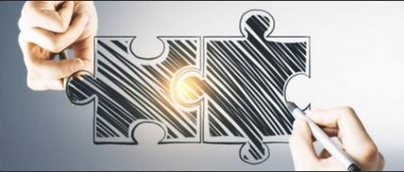 Imagem de 2 peças de quebra cabeças